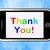 obrigado · mensagem · obrigado · móvel · telefone - foto stock © stuartmiles