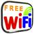 boxed free wifi internet symbol shows connection stock photo © stuartmiles