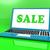 продажи · ноутбука · онлайн · цены · веб - Сток-фото © stuartmiles