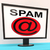spam message shows unwanted electronic mail inbox stock photo © stuartmiles