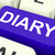 diary key shows online planner or schedule stock photo © stuartmiles