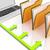 mappen · bestanden · administratie · georganiseerd · tonen - stockfoto © stuartmiles
