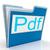 pdf file shows documents format or files stock photo © stuartmiles