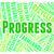 progress word represents earth day and advancement stock photo © stuartmiles
