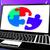 puzzel · laptop · tonen · teamwerk · strategieën - stockfoto © stuartmiles