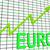 euro chart graph shows increasing european economy stock photo © stuartmiles