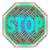 stop · figyelmeztető · jel · irányítás · mutat · stoptábla · figyelmeztetés - stock fotó © stuartmiles