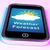 téléphone · portable · nuageux · météorologiques · prévision · nuages - photo stock © stuartmiles