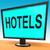 モーテル · 空っぽ · 標識 · 外に - ストックフォト © stuartmiles