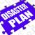 disaster plan puzzle shows danger emergency crisis protection stock photo © stuartmiles