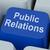 public relations key means news media communication online stock photo © stuartmiles