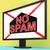 スパム · メール · グラフィック · 孤立した · 白 · インターネット - ストックフォト © stuartmiles