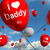 i love daddy balloons shows affectionate feelings for dad stock photo © stuartmiles