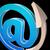 at symbol shows electronic mail correspondence stock photo © stuartmiles
