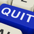 quit key shows exit resign or give up stock photo © stuartmiles