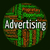 Advertising Word Means Wordcloud Words And Adverts stock photo © stuartmiles
