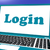 login computer shows website log in security stock photo © stuartmiles