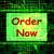 注文 · 今 · を · インターネット · ウェブ · ショップ - ストックフォト © stuartmiles