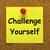wyzwanie · siebie · 3d · osób · człowiek · osoby · tablicy - zdjęcia stock © stuartmiles