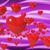 coração · balões · dois · voador · vermelho · beijo - foto stock © stuartmiles