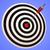 bulls eye target shows precise winning strategic goal stock photo © stuartmiles