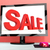 sale message on computer shows online discounts stock photo © stuartmiles
