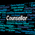 counsellor job means adviser hiring and occupation stock photo © stuartmiles