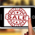 sale on smartphone shows price reductions stock photo © stuartmiles