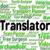 translator job shows translators decipherer and occupation stock photo © stuartmiles