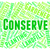 conserve word indicates preserves conserving and sustain stock photo © stuartmiles