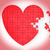 cuore · puzzle · matrimonio · proposta · impegno - foto d'archivio © stuartmiles