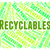 recyclables word indicates eco friendly and environmentally stock photo © stuartmiles