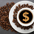 Cup of coffee with dollar stock photo © Studio_3321