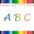 鉛筆 · 文字 · 白 · 木材 · 学校 - ストックフォト © Studio_3321