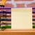 デスク · 学用品 · 鉛筆 · レンガの壁 · 図書 - ストックフォト © Studio_3321