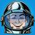смайлик · радости · смех · лице · человека · астронавт - Сток-фото © studiostoks