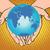 planet earth in hands eurasia africa australia antarctica europ stock photo © studiostoks