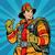 retro · desenho · animado · bombeiro · trabalhar · arte · masculino - foto stock © studiostoks