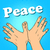 hand gesture dove of peace stock photo © studiostoks