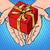 kéz · szív · alak · szeretet · románc · valentin · nap · pop · art - stock fotó © studiostoks