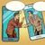 芸術 · 外交 · 漫画 · 実例 · 2 · 話し - ストックフォト © studiostoks