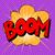 explosão · bolha · retro · vetor - foto stock © studiostoks