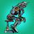 robot · carácter · árbol · mano · cara - foto stock © studiostoks