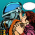 star kiss the wife of an astronaut stock photo © studiostoks