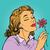 nő · virágok · virág · divat · absztrakt · terv - stock fotó © studiostoks