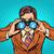 empresario · negocios · arte · pop · retro · vector · líder - foto stock © studiostoks