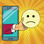 sadness resentment emoji emoticons in smartphone stock photo © studiostoks