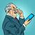 old man gadgets elderly businessman new tablet stock photo © studiostoks