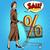 buyer discounts sale grocery cart stock photo © studiostoks
