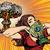 cartoon · nucleaire · bom · ontwerp · kunst · retro - stockfoto © studiostoks